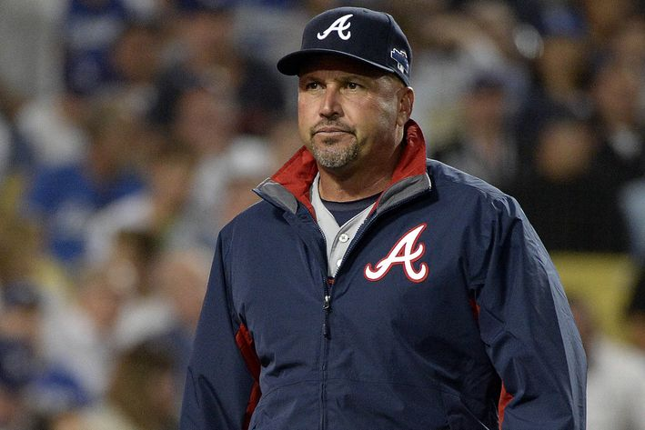 Atlanta Braves manager Fredi Gonzalez (Photo courtesy of Richard Mackson/USA Today Sports)