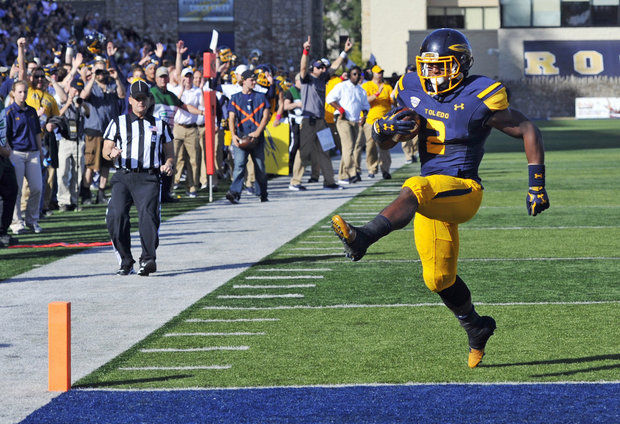Toledo highsteps their way into the top 20. (Photo: AP Photo/David Richard)