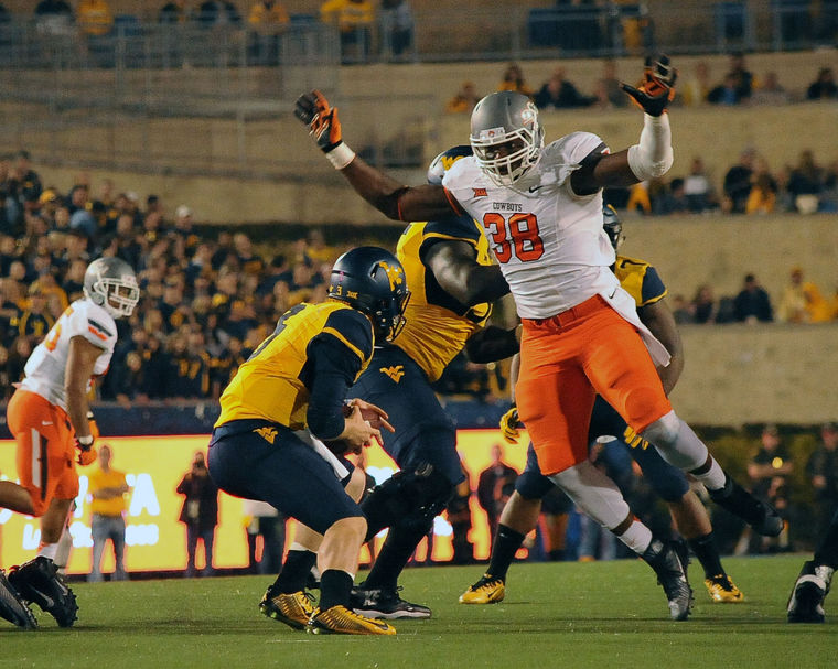 Oklahoma State DE Emmanuel Ogbah might be the nation's best. (Jason Elmquist)