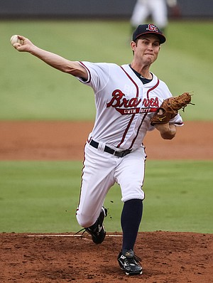 Has Ryan Weber shown enough to make the big league club? (Photo credit: Karl L. Moore via the Gwinnett Daily Post)