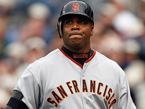 Barry Bonds. (Photo Credit: Denis Poroy/AP file photo))