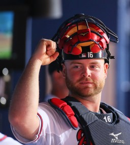 Brian McCann, Professional Catcher. (Photo: Curtis Compton /CCompton@ajc.com)