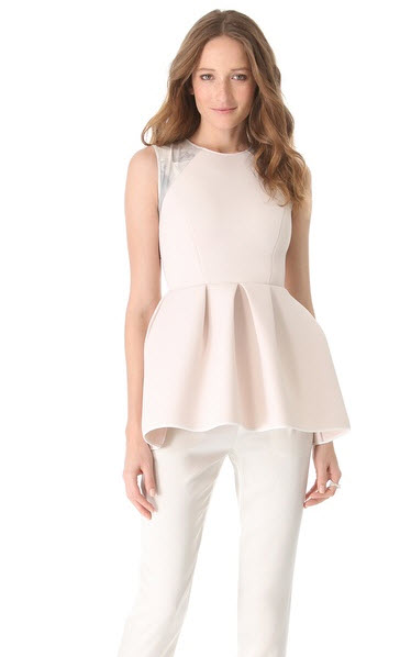 Kaelen - Neoprene Peplum Top Price $475.00 shopbop.com