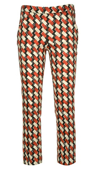 Ter Et Bantine - geometric print trouser
