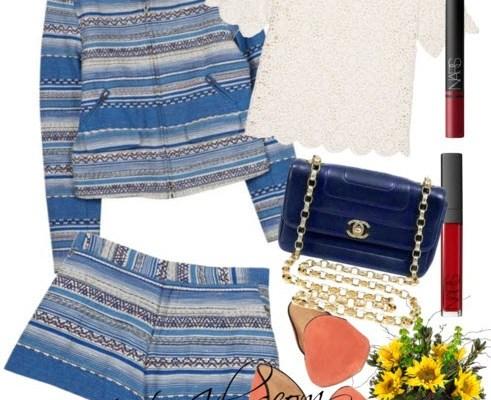 Tribal Merci short suit-I like tribal style