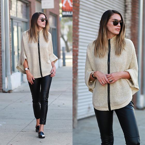 Knit Button Down Shirt Women