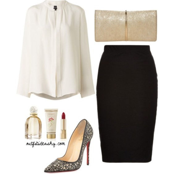 Image result for black skirt outfit