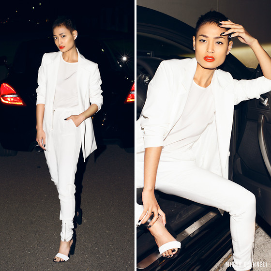 All White White Party Outfits