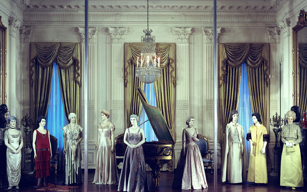 Gorgeous Inaugural Gowns Of The First Ladies