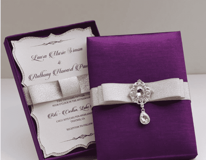 40 Most Elegant Ideas For Wedding Invitation Cards And