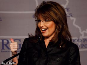 Sarah Palin continues to attract huge media interest despite her failed bid to become vice president.