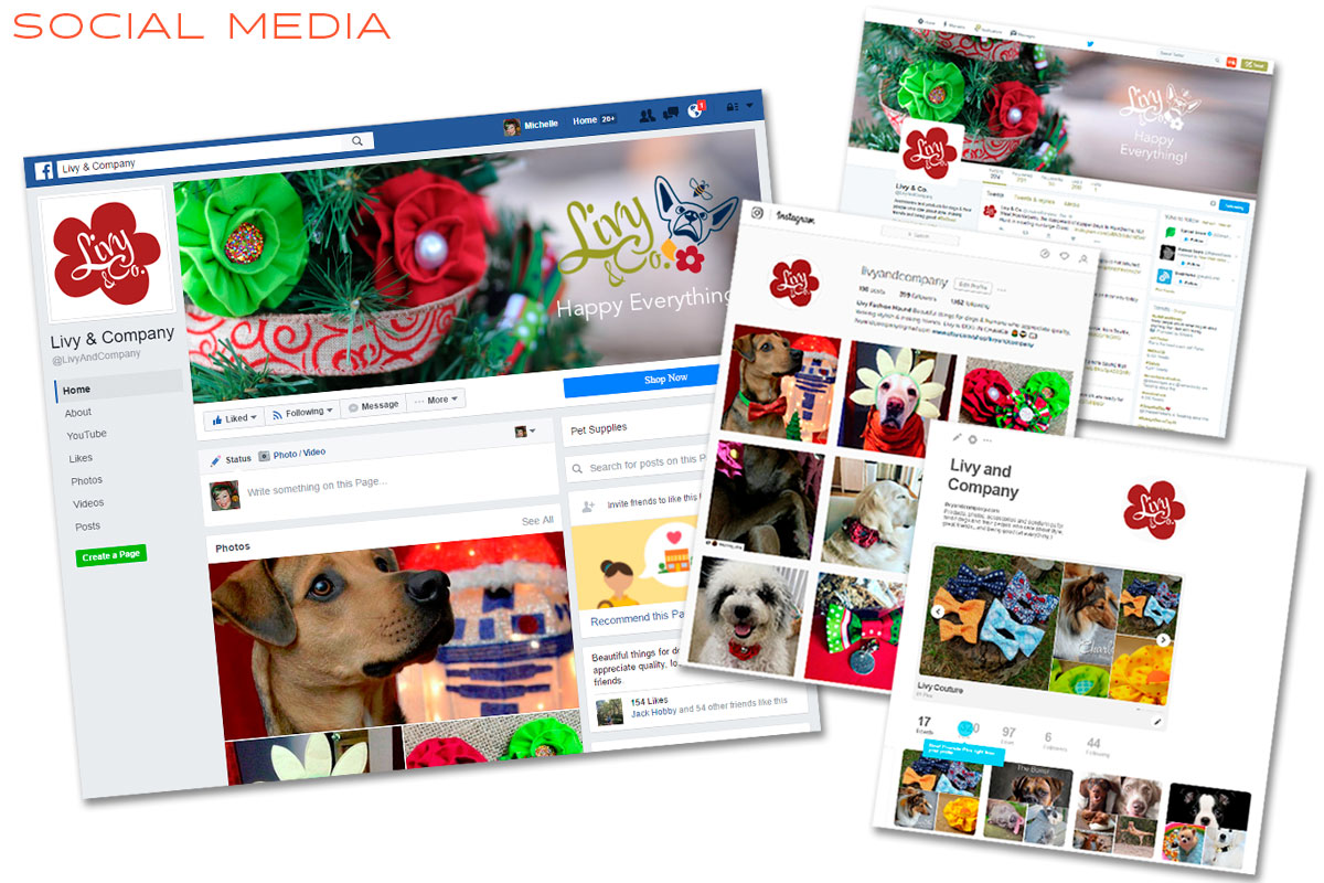 Livy And Company Social Media Marketing - Instagram, Facebook, Pinterest & Twitter
