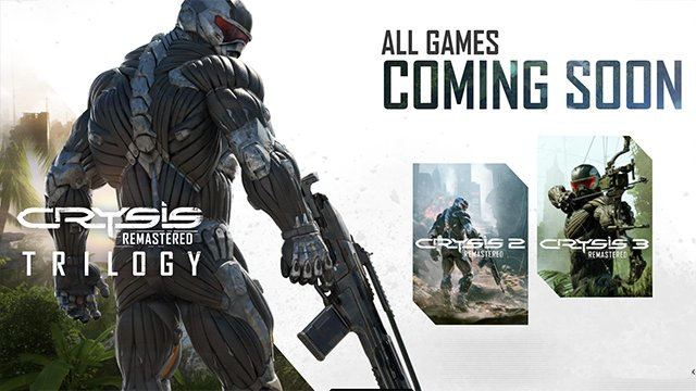 'Crysis Remastered Trilogy' coming soon on PC and Console