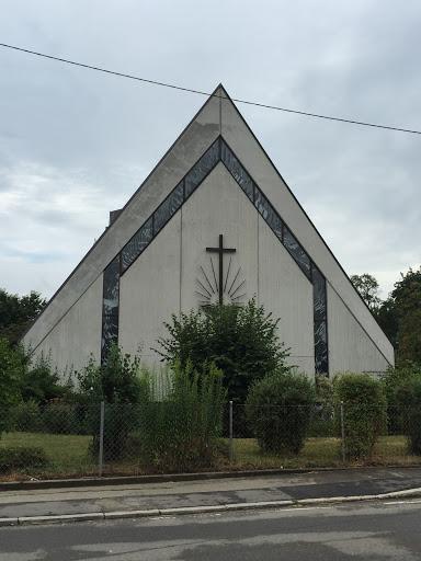 Neuapostolische Kirche Mähringen: Ingress portal