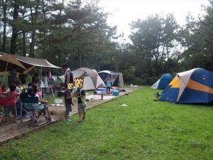 【吹上浜海浜公園キャンプ場】雨・雨・雨。それでもキャンプ