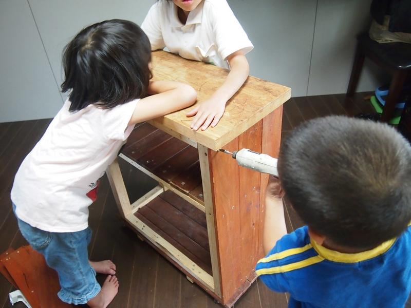 【DIY】格安手作りキッチンカウンター。築35年賃貸住宅でもオシャレな対面キッチンにできます。