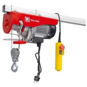 Palan electrique a cable Treuil 500kg Holzmann ESZ500D