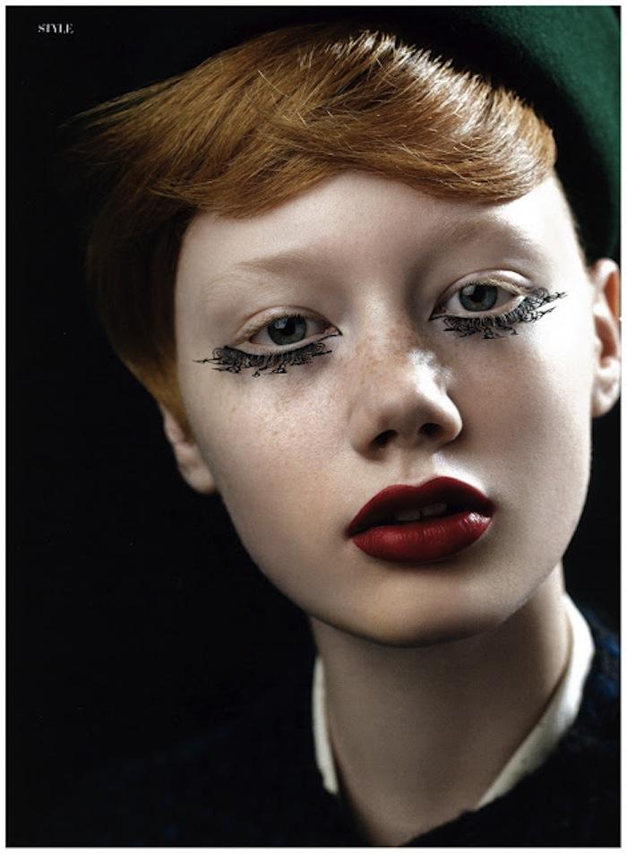 Noblesse_Dec_2011-paper-lave-eyelashes