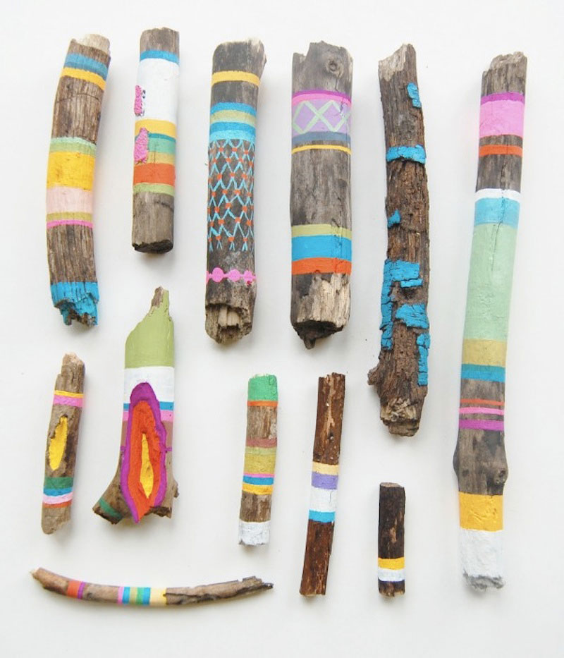 painted-sticks-by-ginette-lapalme