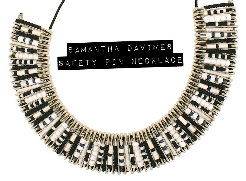 Samantha-Davimes-safety-pin-necklace-BW