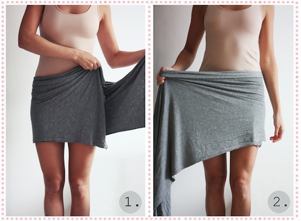 wrap miniskirt tutorial passionsforfashion 1