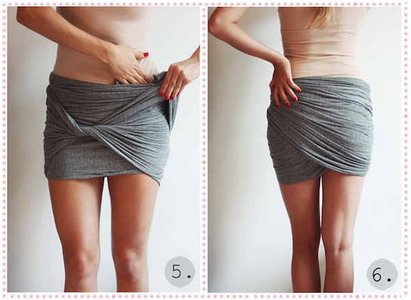 wrap miniskirt tutorial passionsforfashion 3