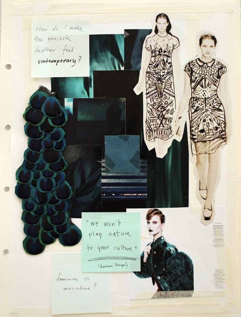 fashion drawing moodboard 2