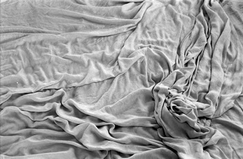 white fabric sheet