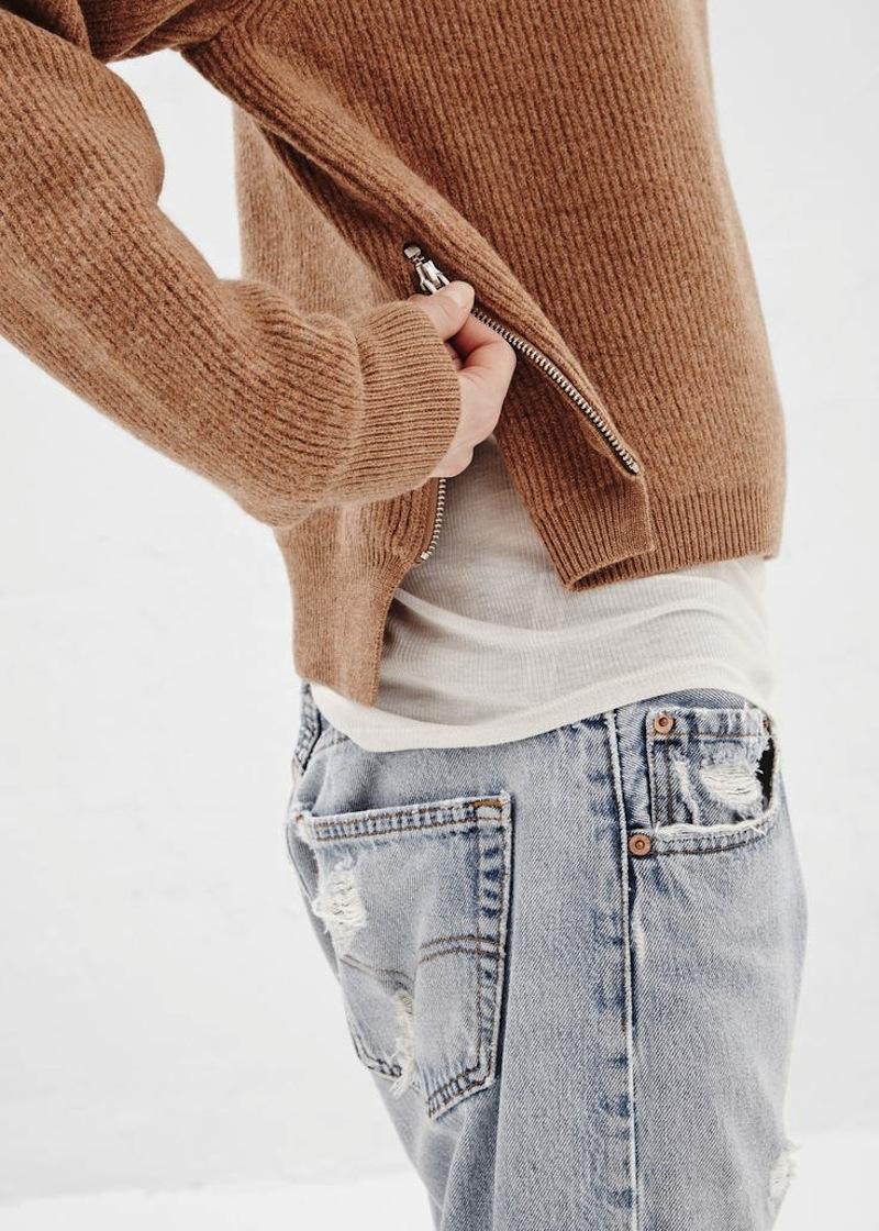 zipper sweater 2