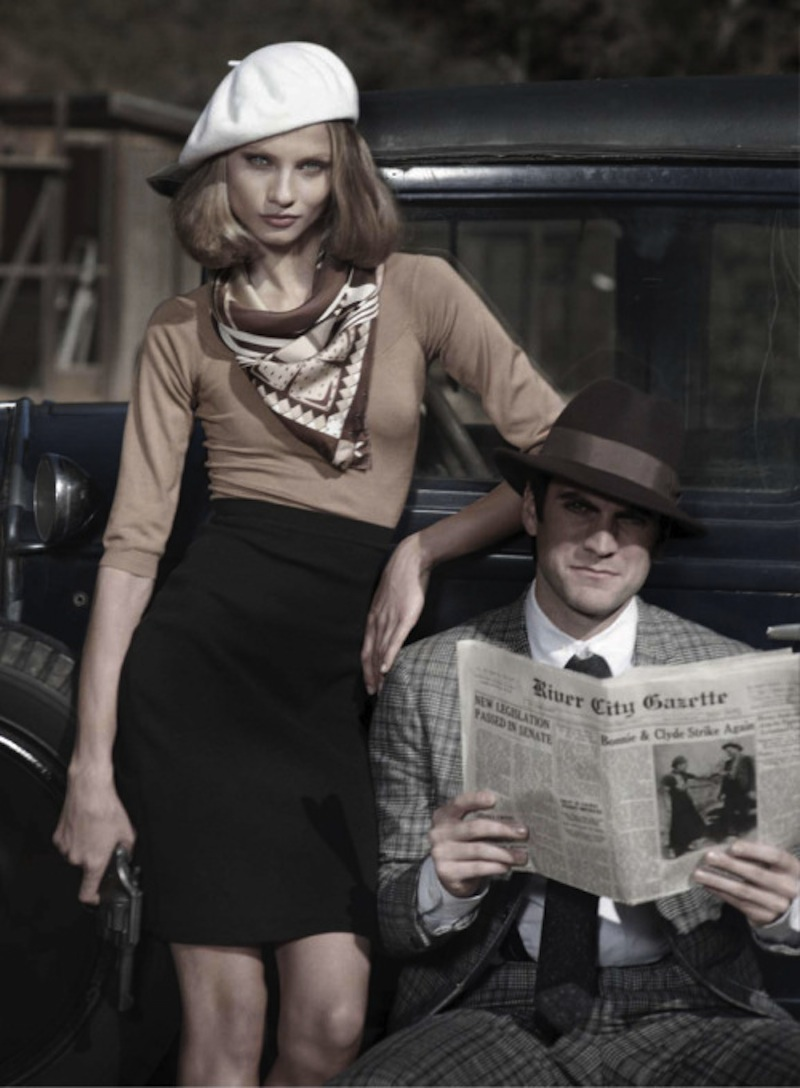 Anna Selezneva & Wes Bentley by Peter Lindbergh for Harpers Bazaar US March 2010 3