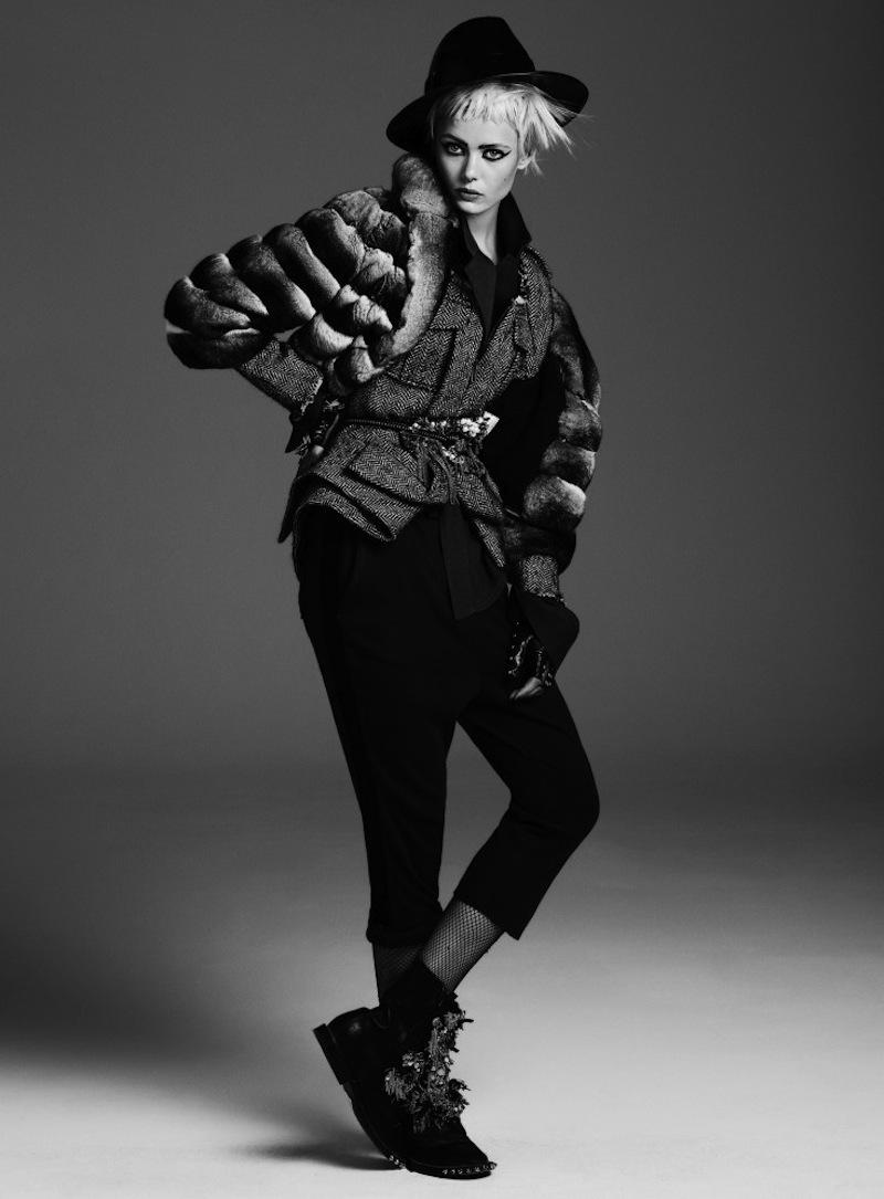 Frida-Gustavsson-by-Steven-Pan-Punk-Attitude-Flair-6-Fall-2013-7-735x997