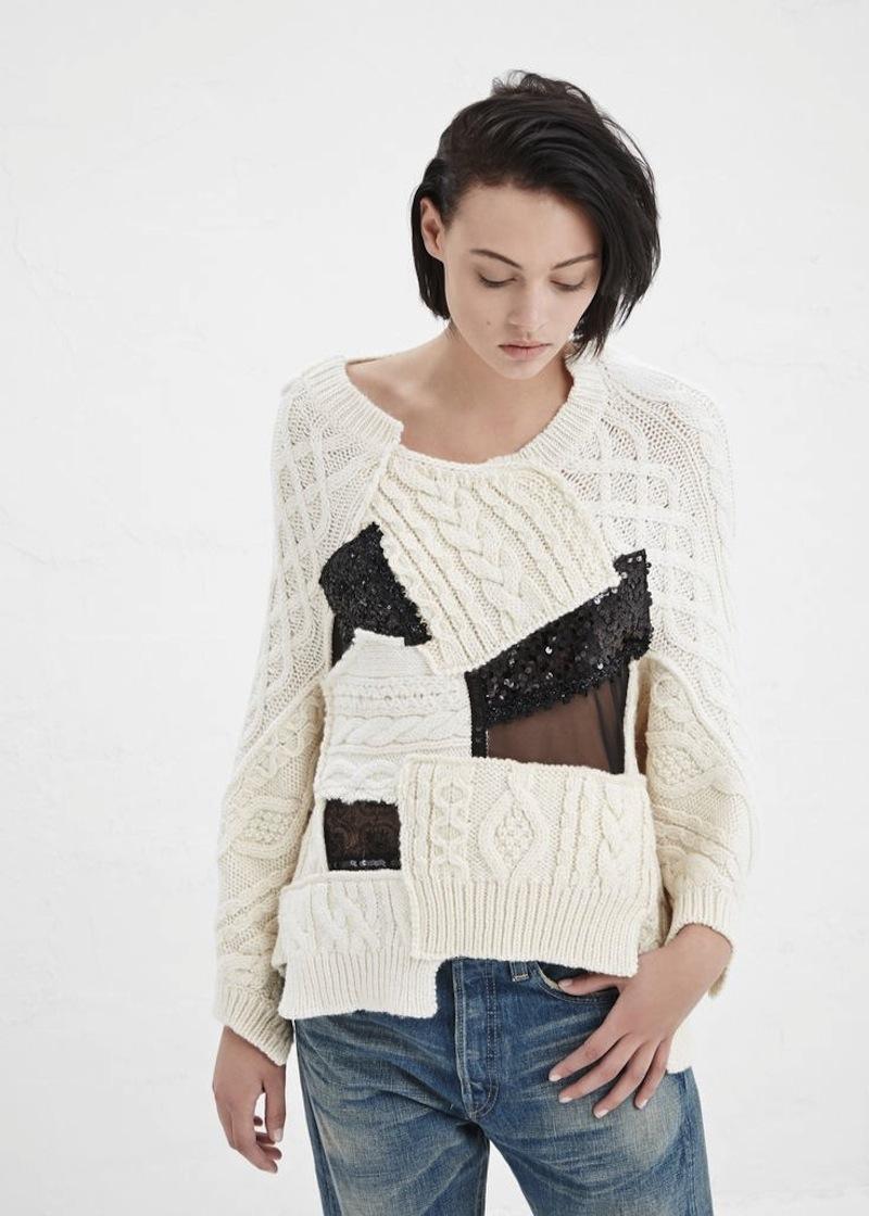Junya Watanabe Fall 2014 knitwear 2
