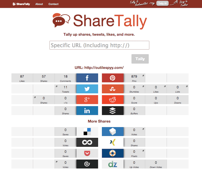 share tally outilespyy