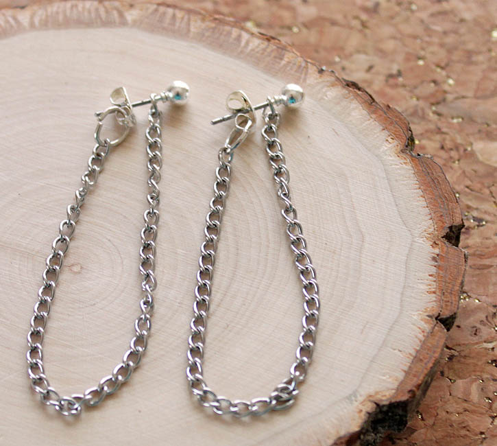 GinaMicheleChainLoopEarrings6