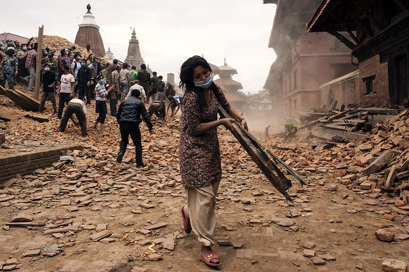 Kathmandu, Nepal  A 7.9 magnitude earthquake struck Nepal on 25 April. Authorities report over 700 people have been killed and many buildings have collapsed in the capital, Kathmandu. As search and rescue efforts continue, hospitals in the capital continue to function but are stretched to the limit. Powerful aftershocks continue to be felt, so further damage is a risk, increasing the climate of fear amongst the local population.