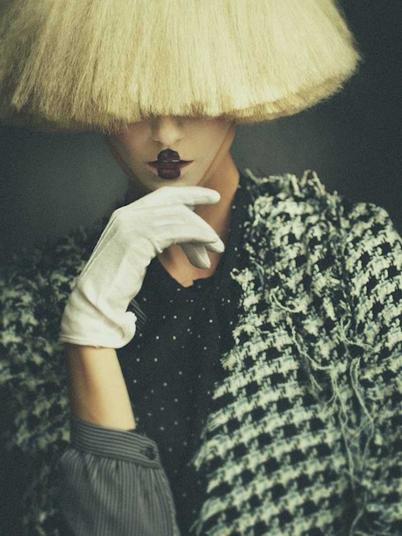 Fashion mime editorial