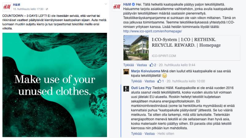 H&M kommentti kaatopaikalle3