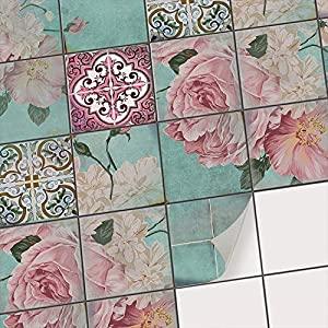 creatisto sticker carrelage adhesif mural salle de bain et cuisine mosaique carrelage autocollant i adhesive decorative a carreaux i motif la