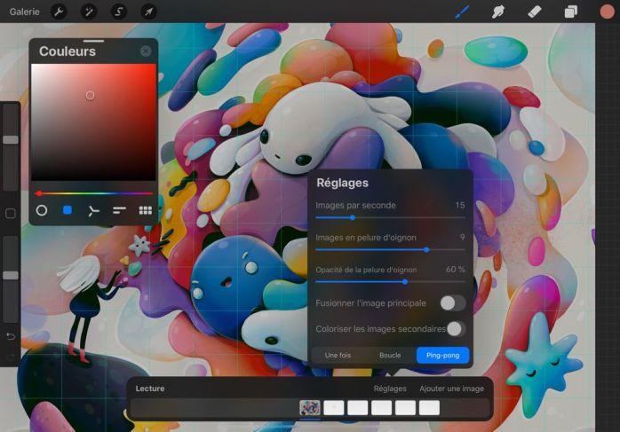 Screenshot Procreate