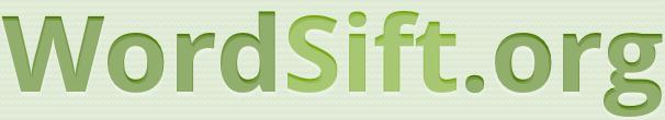 Logo WordSift