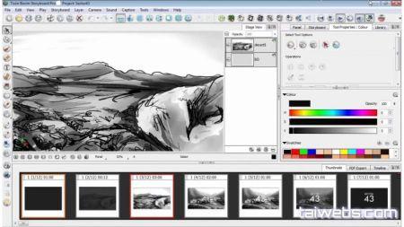 Screenshot Storyboard Pro