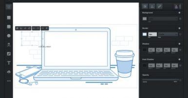 Screenshot Vectr