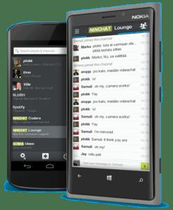 Ninchat smartphone