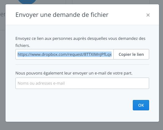dropbox collaboratif