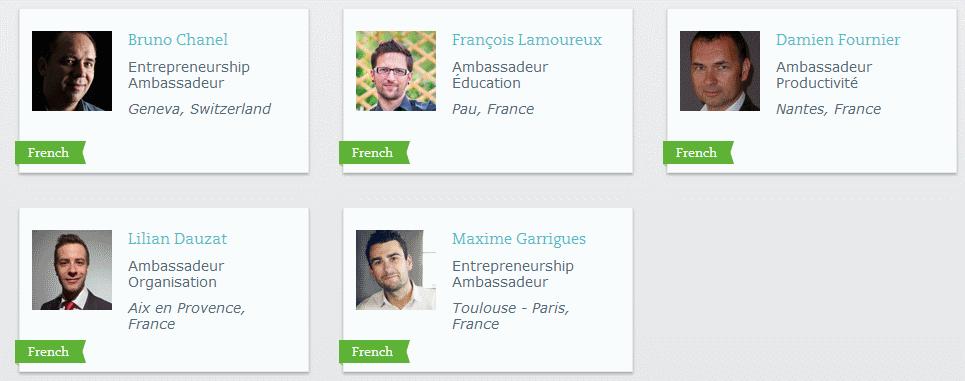 Evernote ambassadeurs