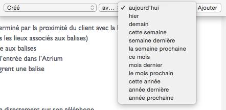 recherche Evernote Mac