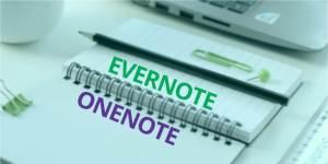 OneNote et Evernote – comprendre pour mieux choisir