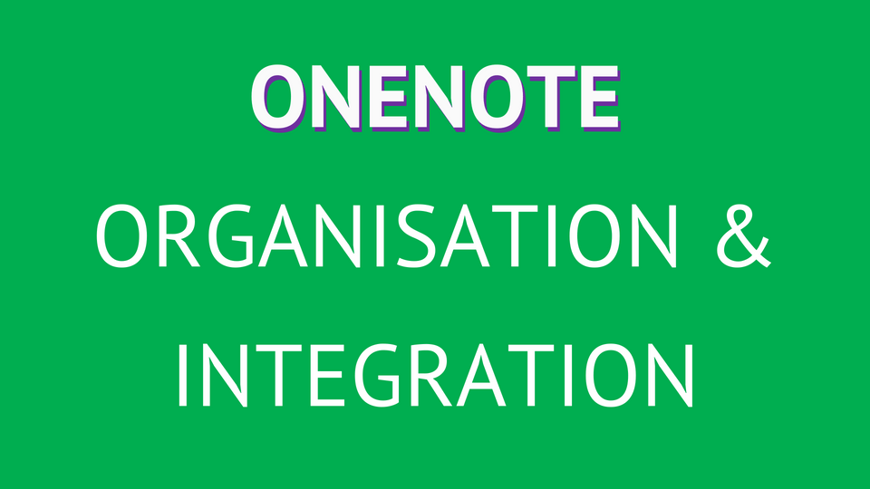 Formation OneNote
