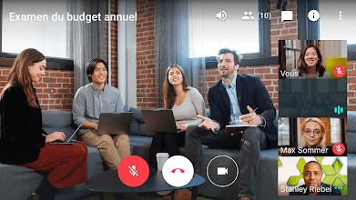 Google Hangouts Meet Visio