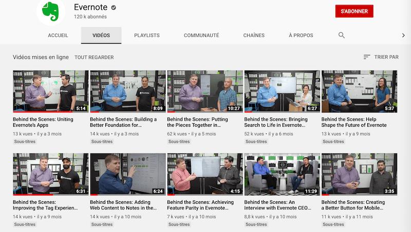 Evernote Youtube